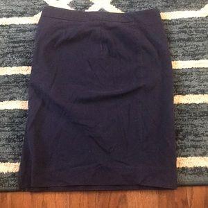 Blue Stretch Skirt Gap 2